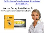 1 888-651-6034 Norton setup norton setup download