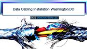 Data Cabling Installation Washington DC