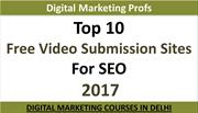 Top 10 Free Video Submission Sites For Seo 2017