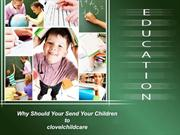 Why Should Your Send Your Children to Childcare Merrylands