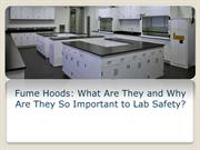 Fume Hoods: What Are They and Why Are They So Important to Lab Safety?