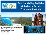 Best Snorkeling Facilities & Technical Diving Courses in Australia