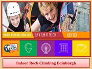 Indoor Rock Climbing Edinburgh