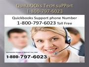 QuiKbOOks TecH suPPort 1800-797-6023