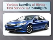 8 Benefits of Hiring Taxi Service