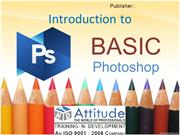 Learning Basics of Adobe Photoshop