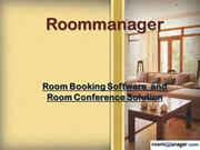 Room Booking Software and Room Conference Solution