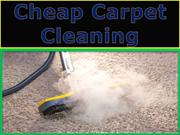 Cheap carpet cleaning depends on the cleaning methods you choose