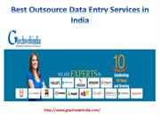 Best Outsource Data Entry Services in India