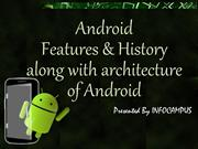 Android – Features and History along with architecture of Android
