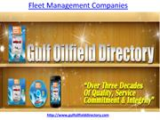Which is the best fleet management companies in Middle East