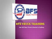 Best Center for Truck Licence in Sydney
