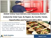 Sample-Global Online Food Delivery and Takeaway Market - Analysis By O