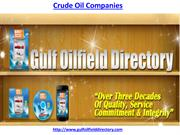 How to get the best Crude Oil Companies