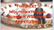 Appetizers for Wedding