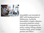 InsureQlik - Claims Administration software for Insurance Brokers