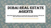 Dubai Real Estate Agents