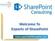 Why Needs a SharePoint Consulting?