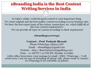 18 eBranding India is the Best Content Writing Services in India
