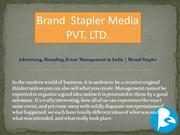 Hire Best Corporate films makers in India   Brand Stapler