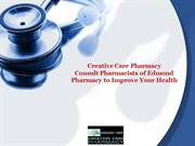 Creative Care Pharmacy Consult Pharmacists of Edmond Pharmacy For Impr