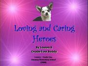 Loving and Caring Heroes _Lauren