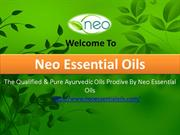 The Qualified & Pure Ayurvedic Oils Prodive By Neo Essential Oils