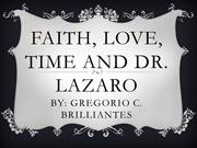 faith, love, time