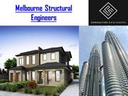 Melbourne structural engineers consultant
