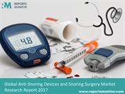 Global Anti-Snoring Devices and Snoring Surgery Market 2017