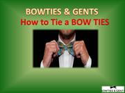 Formal Bow Ties For Men And Boys In UAE