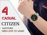 4 Casual Citizen Watches Men Love to Wear