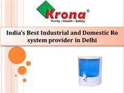 Buy Best Ro water purifier for home, Industrial and Commercial
