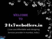 Affordable Responsive  web designing