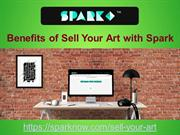 Benefits of Sell your art with Spark