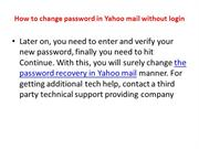 How to verify to new reset password Yahoo mail