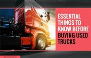 Few questions to ask before investing in used trucks