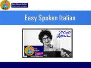 Italian Online Course for Novice Learners