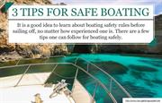 What is the requirement for staying safe at sea?