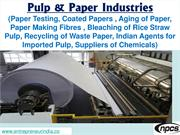 Pulp & Paper Industries