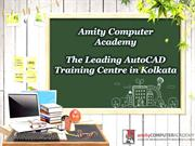 The Leading AutoCAD Training Centre in Kolkata