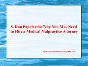 Why You May Need to Hire a Medical Malpractice Attorney