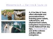 Livingstone Affordable Tours