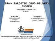 BRAIN  TARGETED DRUG DELIVERY SYSTEM