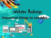 Website ReDesign Process - Website Development Company In USA