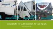 Best RV Dealer - Welcome to Super Deals RV Inc in GA