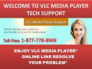 Always Here @1-877-778-8969@ On VLC media player tech support