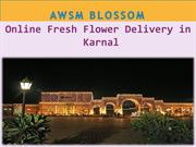 Online Fresh Flower Delivery in Karnal 24 march