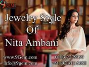Jewelry Style Of Nita Ambani