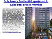 Fully Luxury Residential apartment in Kolte Patil Breeze